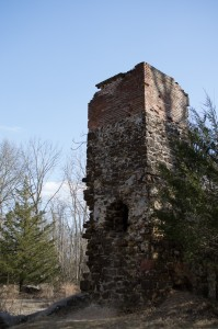 All that remains of the Atsion Cotton Mill